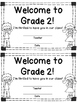 Welcome to Grade Two Certificate - Back to School