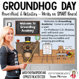 Groundhog Day PowerPoint and Activities