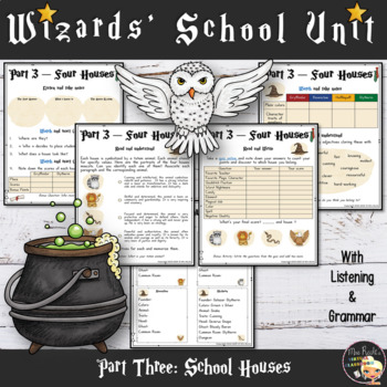 Welcome to Hogwarts - Harry Potter themed Back to School Lesson