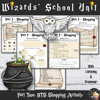 Welcome to Hogwarts - Worksheets Part 2