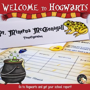 Welcome to Hogwarts - Worksheets Part 4