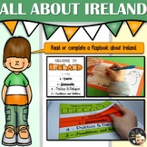 St Patrick Activities - All about Ireland Flapbook