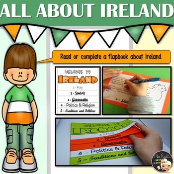 Ireland Flapbook