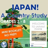 Japan! A Country Study 3 - 8 Introduction - Mini Booklet R