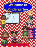 Back to School-Welcome to Kindergarten