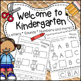 Beginning of Year Kindergarten Activities
