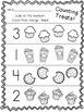 Beginning of the Year in Kindergarten * Numbers * Letters