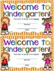 Welcome to Kindergarten Certificate - Back to School Keepsake