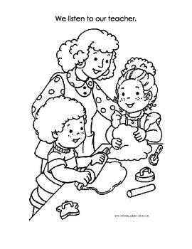 Welcome to Kindergarten Coloring Book