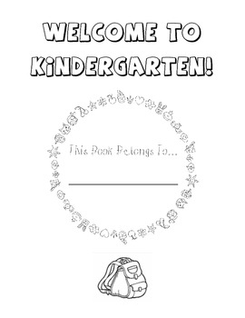 Welcome to Kindergarten Coloring Book