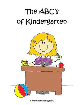 Welcome to Kindergarten Orientation Coloring Book