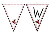 Welcome to Kindergarten Ladybug Banner
