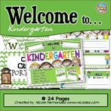 Welcome Banners - Welcome To Kindergarten with Door Signs and More!