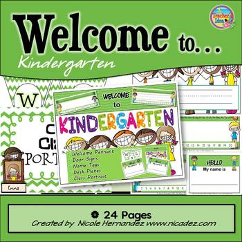 Banner - {Welcome to Kindergarten and More!}