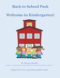 Welcome to Kindergarten Pack