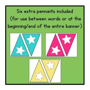 Welcome to Kindergarten Pennant Banner