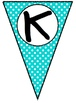 Welcome to Kindergarten Pennant Banner - Polka Dots