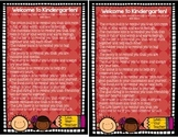 Welcome to Kindergarten Poem Printable (Color and Black & White)