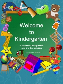 Welcome To Kindergarten Package By Mrs Teacher S Educational Resources