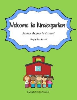 Welcome to Kindergarten - Preschool Students