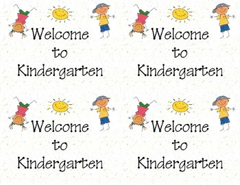 picture regarding Printable Post Cards named Welcome in the direction of Kindergarten Printable Postcards