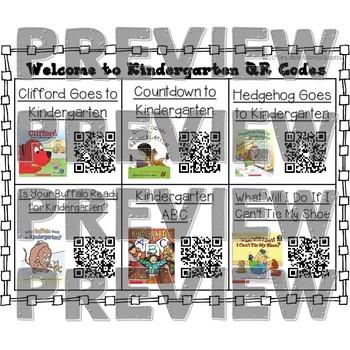 Welcome to Kindergarten QR Code Read Alouds