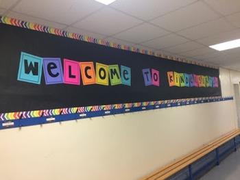 Welcome to Kindergarten Sign
