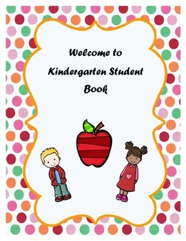 Welcome to Kindergarten Student Book