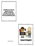 Welcome to Kindergarten Student Card