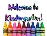 Welcome to Kindergarten Wall Art Poster