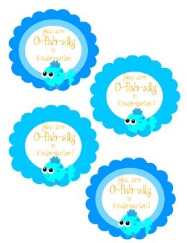 Welcome to Kindergarten - You are O-Fish-ally in Kindergarten!