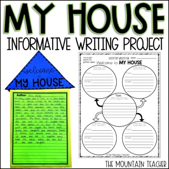 Welcome to MY HOUSE - Descriptive/Informative Writing Project