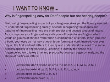 Welcome to Master ASL Unit 6! Fingerspelling, Numbers, and glossing