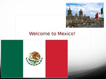 Welcome to Mexico PowerPoint