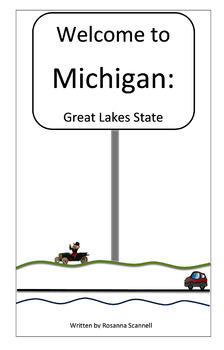 Welcome to Michigan Booklets - Three Reading Levels - Stat