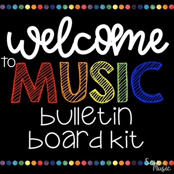 Welcome to Music Bulletin Board Kit