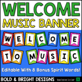 Welcome to Music Posters: BOLD & BRIGHT Music Bulletin Board