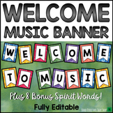 Welcome to Music Posters: Music Bulletin Board Set