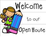 Welcome to Open House Light box Sign