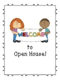 Welcome to Open House Sign