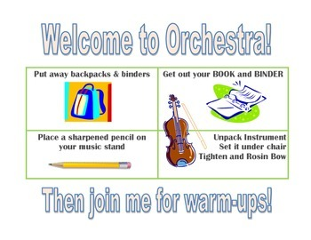 Welcome to Orchestra Sign