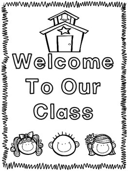 Welcome to Our Class Book