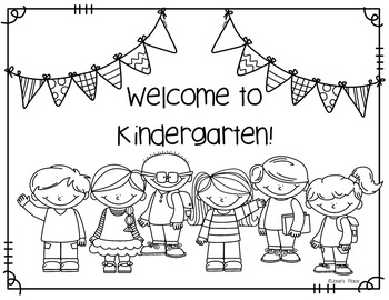 Welcome to Our Class Coloring Sheet FREEBIE by Josie's ...