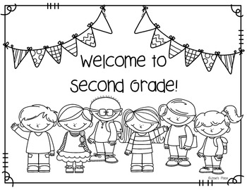 Welcome To Our Class Coloring Sheet Freebie By Josie S Place Tpt