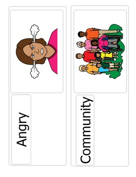 Welcome to Pre-K Vocabulary Cards (Unit 1)