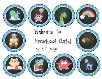 Welcome to Preschool Hats