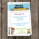 Welcome to Preschool Invitation - Newsletter - Announcement - EDITABLE