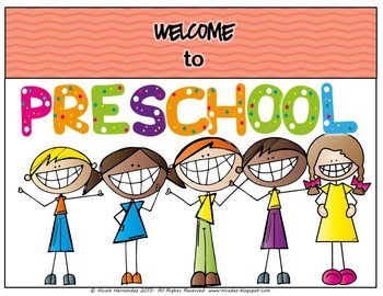 Welcome Banners - Welcome To Preschool with Door Signs and More!