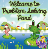 Welcome to Problem Solving Pond: Helping Kids Calm Down an