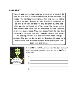 Welcome to Question Mansion Asking Questions Worksheet